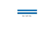 Wirthalon Tafel blau/weiß/blau