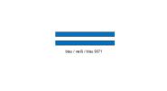 Resopal Tafel blau/weiß/blau 9071