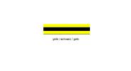 Wirthalon Tafel gelb/schwarz/gelb