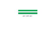 Wirthalon Tafel grün/weiß/grün