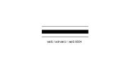 Resopal Tafel weiß/schwarz/weiß 9024