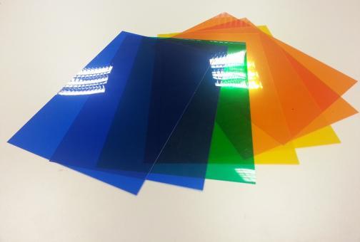 PVC Folien Paket farbig gemischt