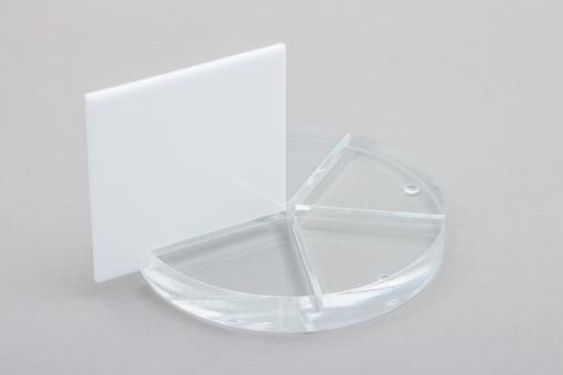 Acrylglas XT Platten-Zuschnitte weiß-massiv
