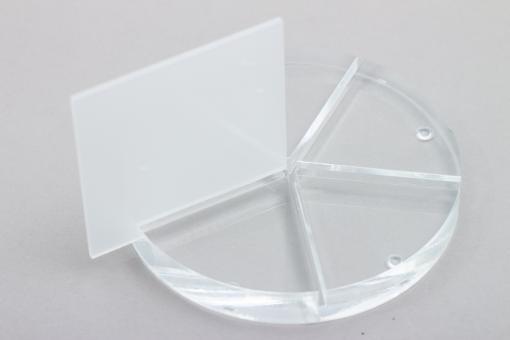 Acrylglas XT Tafel weiß-opal, Großformat