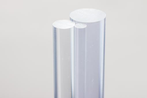 Acrylglas XT Rundstäbe farblos/transparent im 10er Pack
