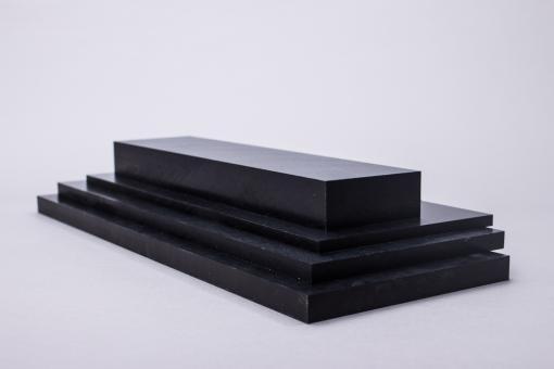 POM Tafel schwarz, kalandriert, Standardformat