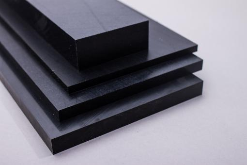 Polyamid 6.6 GF 30 Tafel schwarz 3000 x 620 mm mit Glasfaser