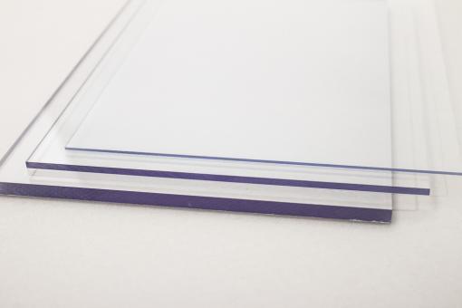 Polycarbonat Tafel farblos, Großformat