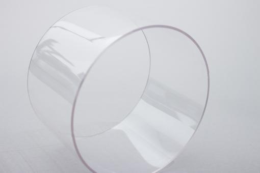 Polycarbonat Rohr farblos, ab Ø 45 bis 100 mm