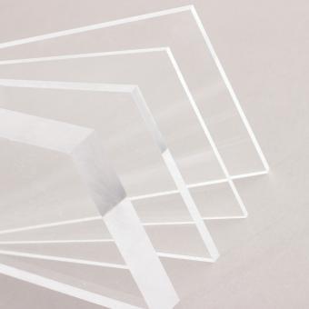 Acrylglas Tafel gegossen farblos