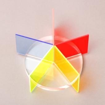 Acrylglas GS Platten-Zuschnitte farbig fluoreszierend