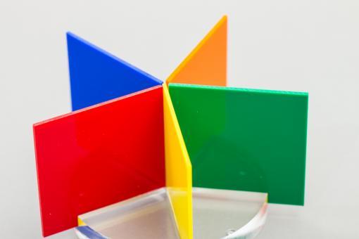 Acrylglas GS Platten-Zuschnitte farbig-massiv