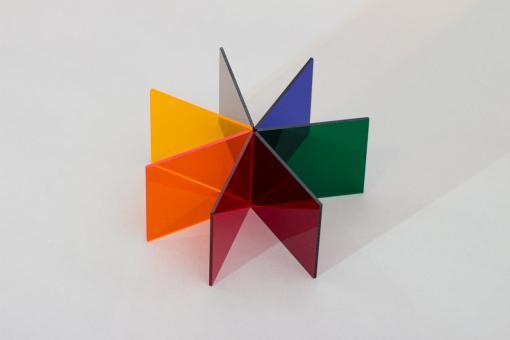 Acrylglas GS Tafel farbig-transparent, Großformat