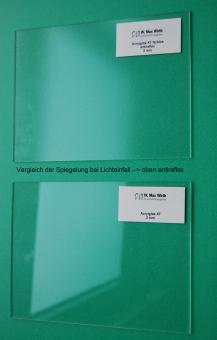 Acrylglas Tafel extrudiert farblos - antireflex