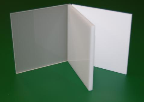 Acrylglas XT Tafel weiß-massiv, Großformat