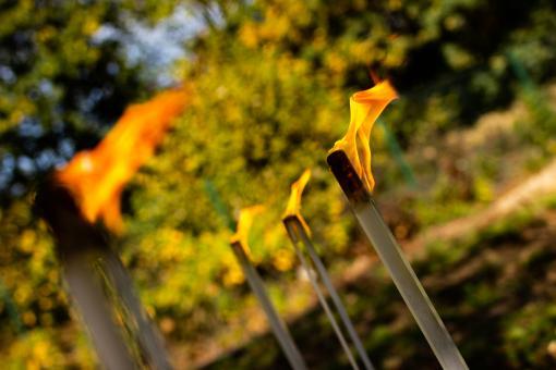 Gartenfackeln   | Der Hingucker auf Ihrer Gartenparty