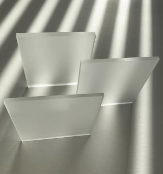 Acrylglas GS Tafel farblos beidseitig satiniert