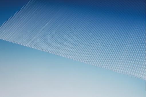 Makrolon SDP 6-8 clear farblos, 2100 mm breit