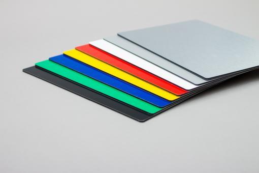 Maxpanel Tafel beidseitig farbig | Deckschicht 0,26 mm Alu