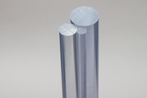 Polycarbonat Rundstab, Industriequalität natur