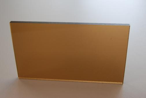 Polycarbonat SUNLIFE Tafel bronce, Großformat