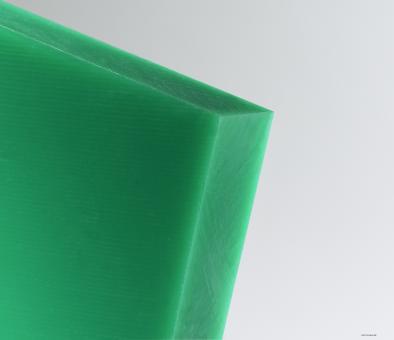PE 1000 Tafel grün, gepresst, gehobelt Kleinformat