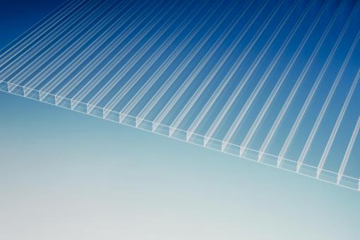 Plexiglas® Stegdreifachplatte S3P 16-24 farblos resist, no drop, 980 mm breit
