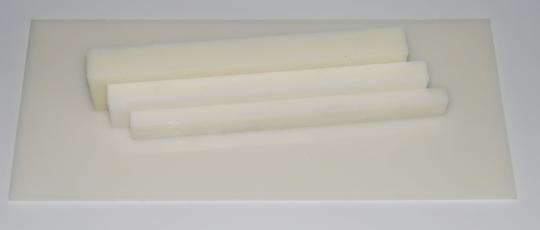 Polyamid 6 Tafel natur     2000 x 1000 mm  gegossen