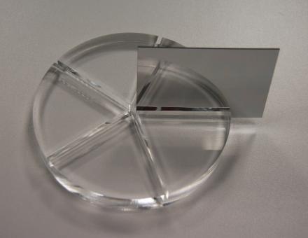 Polystyrol Spiegel Tafel silber, 2000 x 1000 mm