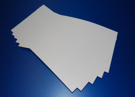 PVC Folie weiß matt/matt