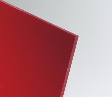 PVC Tafeln extrudiert rot, Kleinformat