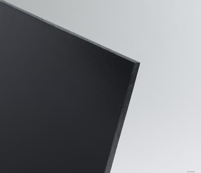 PVC Tafeln extrudiert schwarz, Kleinformat