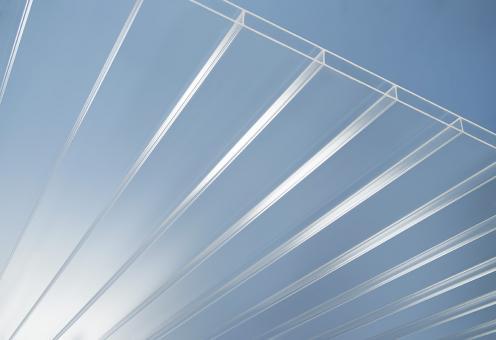 Plexiglas® SDP 16-64 farblos resist no drop AAA, 980 mm breit