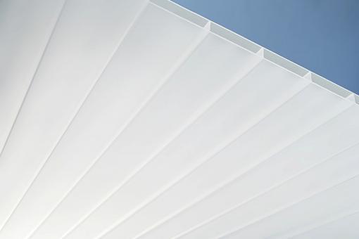 Plexiglas® SDP 16-64 weiß resist NO DROP AAA, 980 mm breit