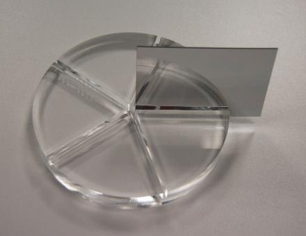 Acrylglas XT Spiegel-Platten-Zuschnitte silber