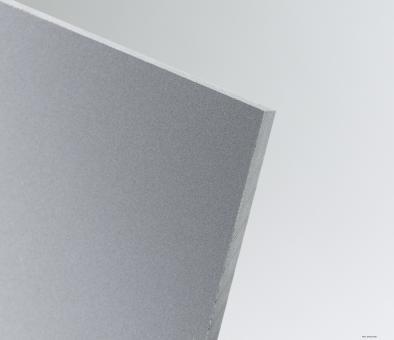 PVC Tafeln extrudiert hellgrau, Kleinformat