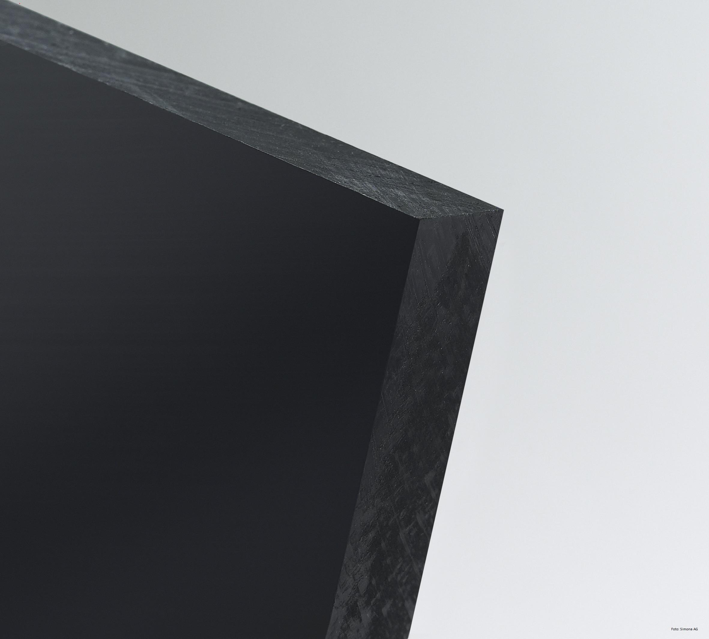 pe 1000 tafel schwarz antistatisch kleinformat. Black Bedroom Furniture Sets. Home Design Ideas